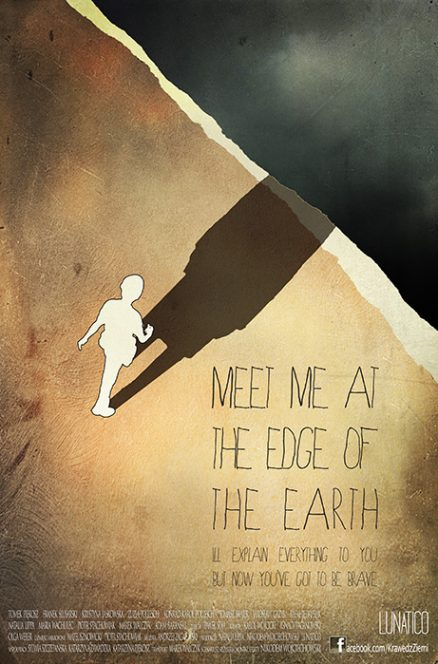 Meet me at the edge of the Earth - poster